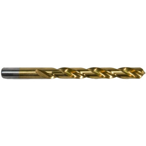 Morris Products 13568 1/2 inch X 6 inch Titanium Coated High Speed Steel Drill Bit