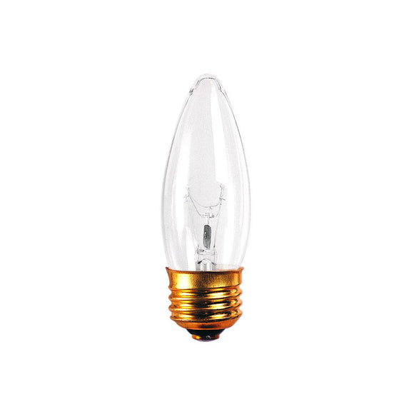 Bulbrite 495025 25 Watt B10 Incandescent White