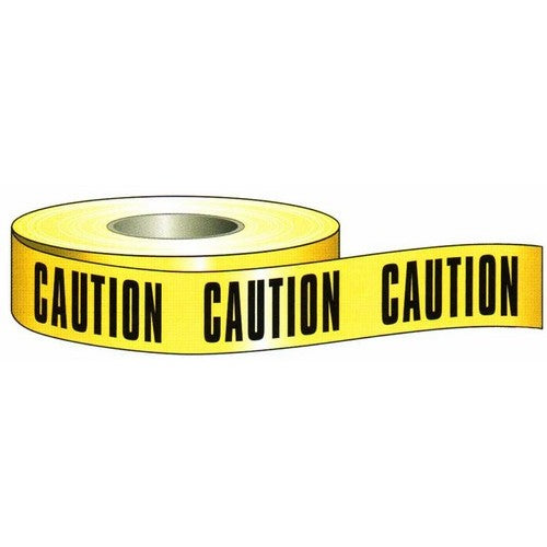 Morris Products 69002 Caution Tape 3 inch X 200 ft