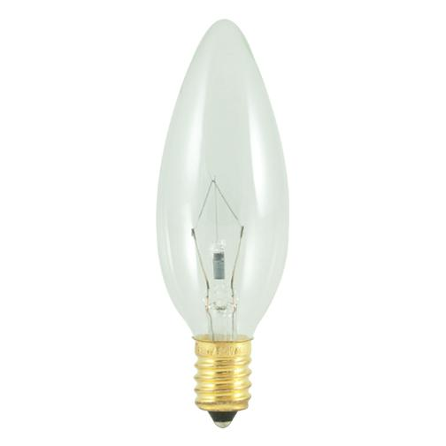 Bulbrite 400460 60 Watt B10 Incandescent White Torpedo