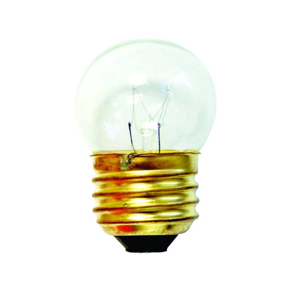 Bulbrite 702107 7.5 Watt S11 Incandescent White Clear
