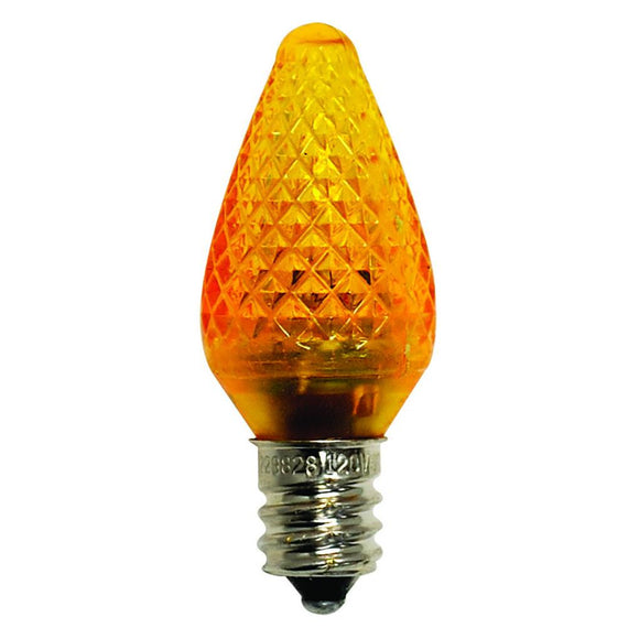 Bulbrite 770175 0.6 Watt C7 LED Orange