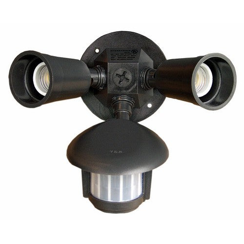 Morris Products 73210 Motion Activated Twin Par Light Bronze - Our Motion Detector Light saves energy while being very functional.