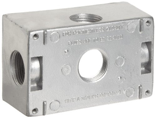 Morris Products 36080 WP Box 5-3/4 inch Holes Gray