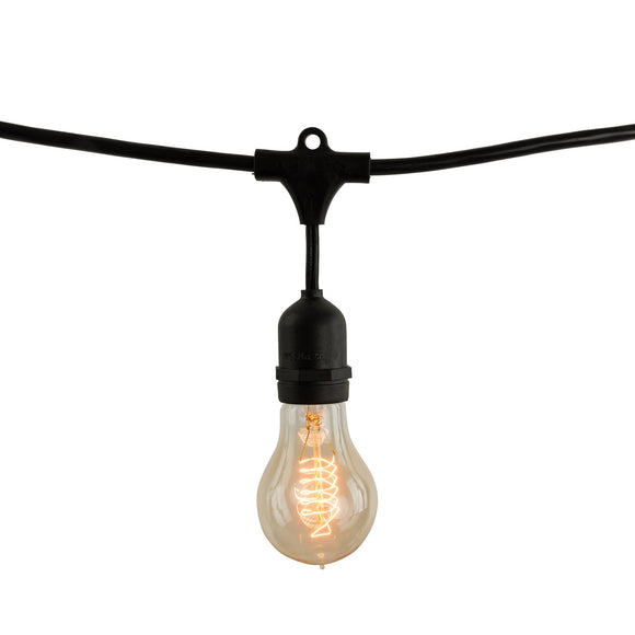 Bulbrite 810007 Fixtures A19 String Lights