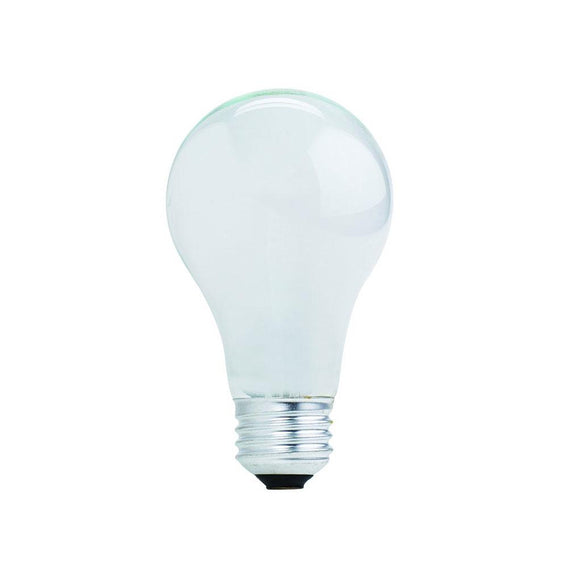 Bulbrite 115142 43 Watt A19 Halogen White
