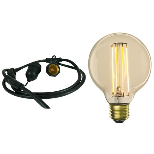Bulbrite 810076 Fixtures G25 Globe String Lights