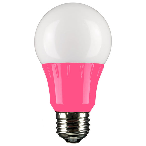 LED - Colored Series - 3 Watt - 140 Lumens  - Pink - Pink