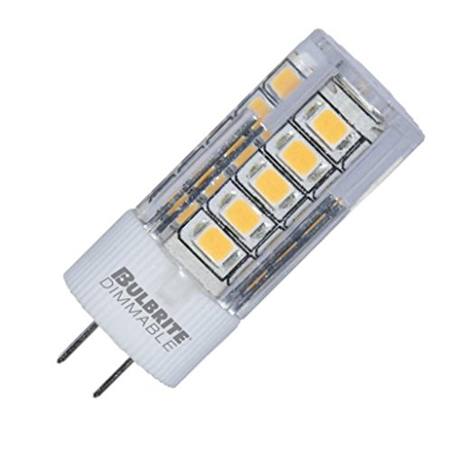 Bulbrite 770587 3 Watt JC LED White Bi Pin