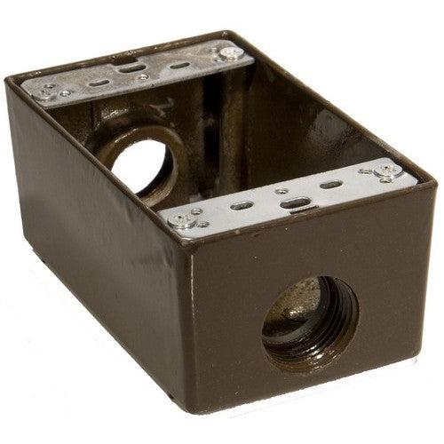 Morris Products 36024 WP Box 3-3/4 inch Holes Bronze