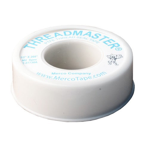 Morris Products T6-733 Tape, PTFE, (1/2x520in)