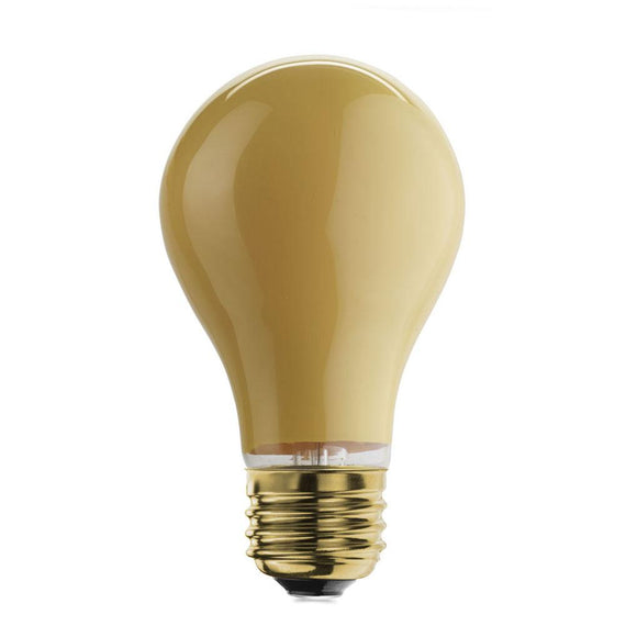 Bulbrite 103025 25 Watt A19 Incandescent Yellow
