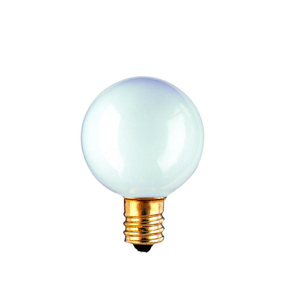 Bulbrite 391040 40 Watt G16 Incandescent White Globe