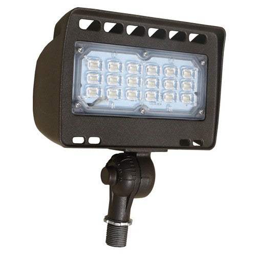 Morris Products 71343A 30W LED Flood Knuckle 5000K Br