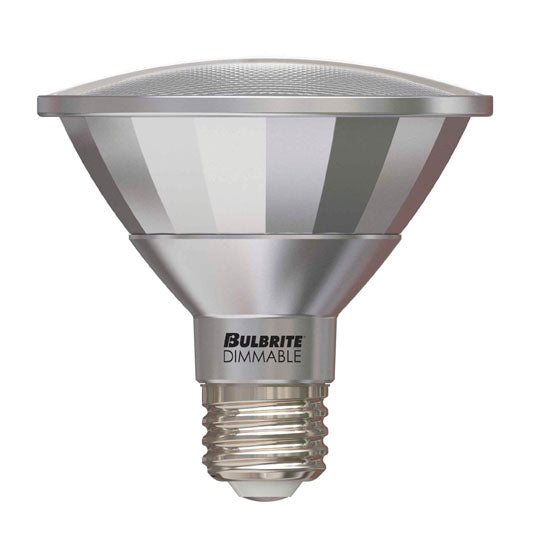 BULBRITE 772600 13 Watt PAR30SN LED - E26 Medium Base - 2700 Kelvin Warm White - 820 Lumens - Dimmable - 120 Volt