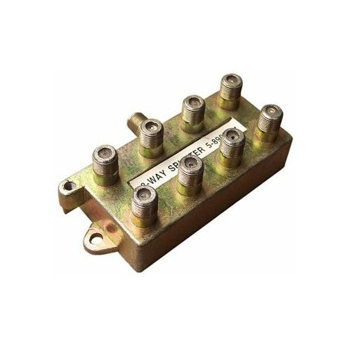 Morris Products 45055 8 Way Splitter 5-900 Mhz