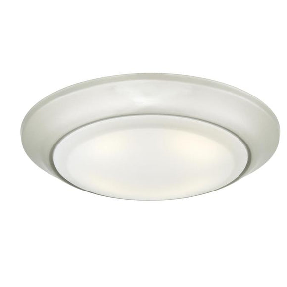 Westinghouse 6323100 Large LED Surface Mount Brushed Nickel Finish with Frosted Lens - Dimmable