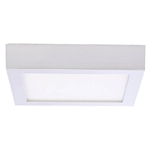 Bulbrite 773139 10 Watt DWNLGT Fixtures White Flush Mount Square