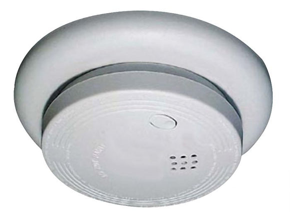 Craftmade USI-1227L - Ionization Smoke and Fire Alarm - Battery-Operated -  White Finish