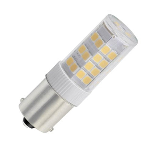 Bulbrite 770617 4.5 Watt T4 LED White Bayonet Base