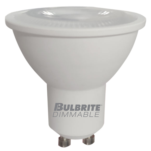 BULBRITE 771215 5 Watt PAR16 LED - GU10 Twist & Lock Base - 2700 Kelvin Warm White - 350 Lumens - Dimmable - 120 Volt