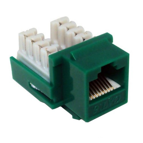Morris Products 88426 Cat 6 110 Green Jack