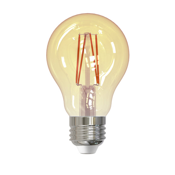BULBRITE 776802 4.5 Watt A19 Filament Nostalgic - E26 Medium Base - 2200 Kelvin Warm White - 400 Lumens - Antique - 120 Volt