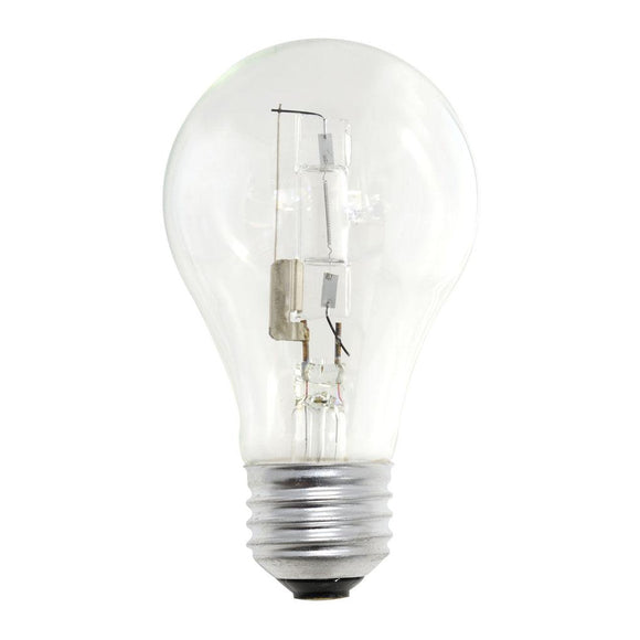Bulbrite 115042 43 Watt A19 Halogen White