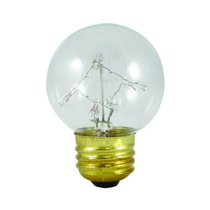 Bulbrite 716311 Incandescent G16 Globe
