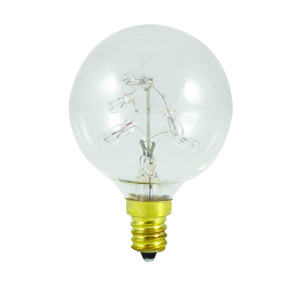 Bulbrite 716310 Incandescent G16 Globe