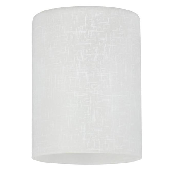 Westinghouse 8101600 White Linen Cylinder Shade