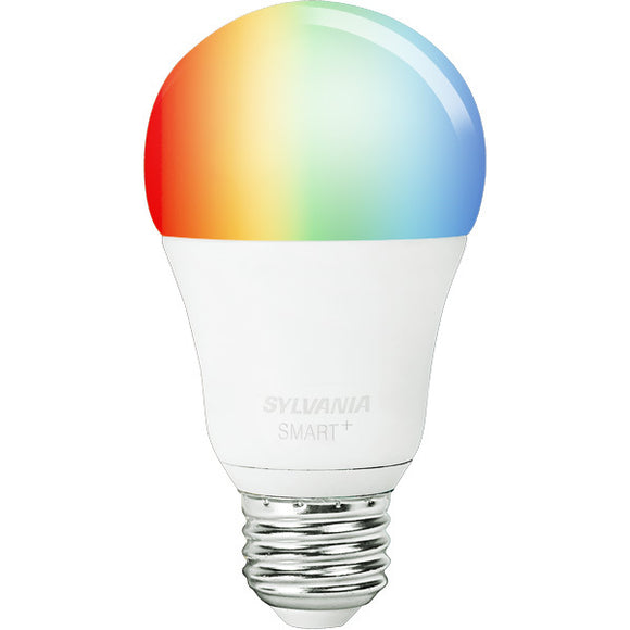 Sylvania 73693 - Smart LED Bulb - RGBW Full Color and Adjustable White Lamp - Compatible With Any ZigBee Hub - LED10A19RGBWZBS