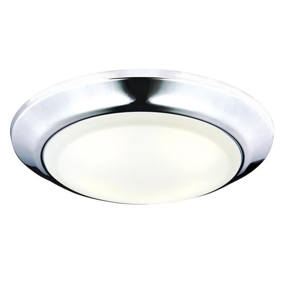 Westinghouse 6322600 Large LED Surface Mount Chrome Finish with Frosted Lens - Dimmable