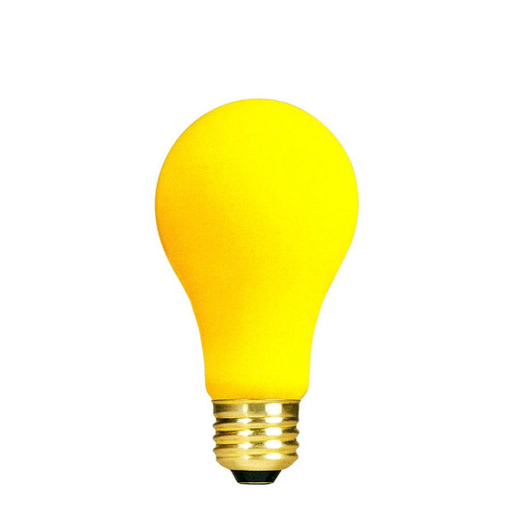 Bulbrite 103060 60 A19 Watt Incandescent Yellow