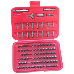 Morris Products 13950 100 Piece Security Bit Set