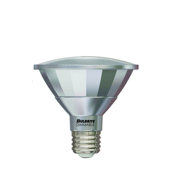 Bulbrite 772721 13 Watt PAR30SN LED White Flood Dimmable
