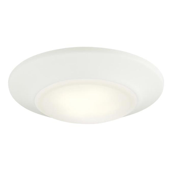 Westinghouse 6322100 Small LED Surface Mount White Finish with Frosted Lens - Dimmable