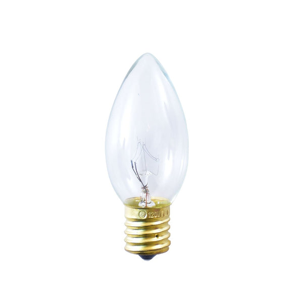 Bulbrite 709109 7 Watt C9 Incandescent White