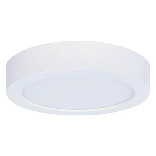 Bulbrite 773130 10 Watt DWNLGT Fixtures White Flush Mount Round Dimmable