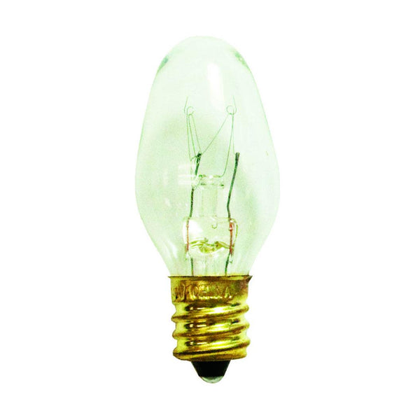 Bulbrite 709105 5 Watt C7 Incandescent White