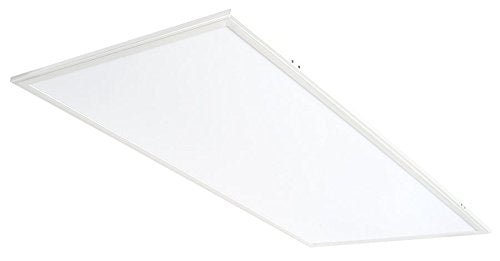 RAB EZPAN2X4-50N/D10 LED Fixture Flat Panel Edge Lit 2 ft x 4 ft, 50 Watt, 120-277 Volt, 4000 Kelvin, Cool White, Dimmable, 50000 Average Rated Hours