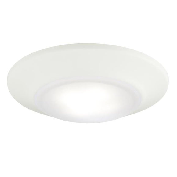 Westinghouse 6322500 Small LED Surface Mount White Finish with Frosted Lens - Dimmable