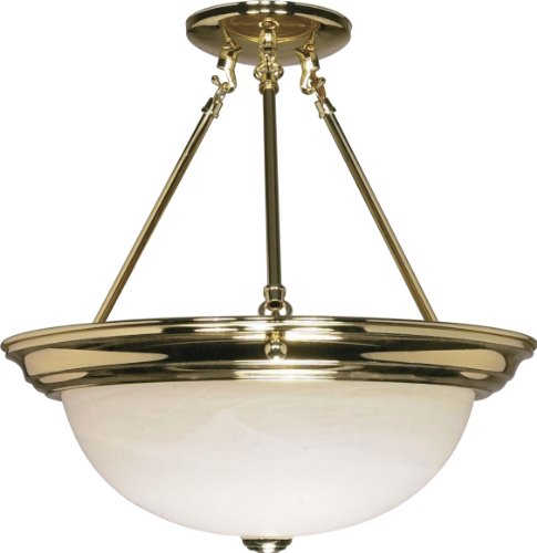 NUVO Lighting 60/218 Fixtures Ceiling Mounted-Semi Flush