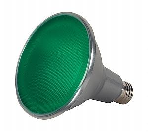 Satco S9481 LED PAR38 Green