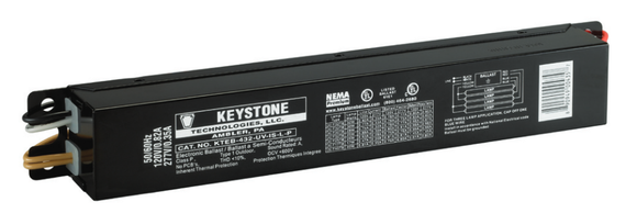Keystone KTEB-432-UV-IS-L-P - (4) Lamp Fluorescent Ballast