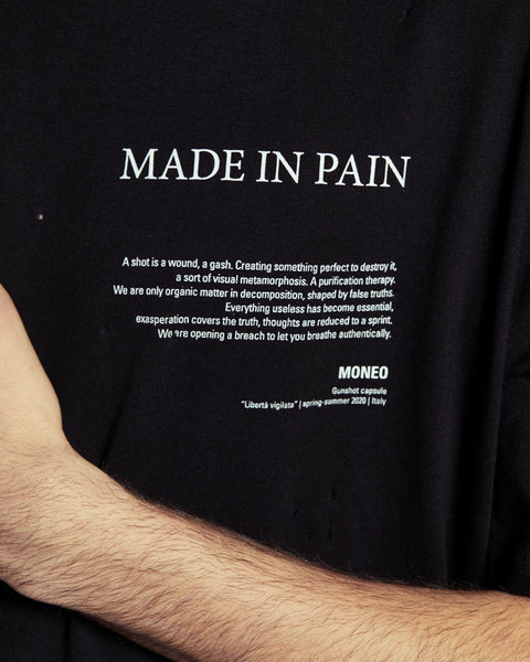 Made in Pain - Tshirt