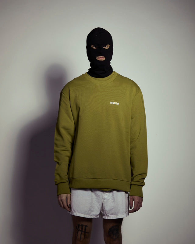 Green Logo - Crewneck