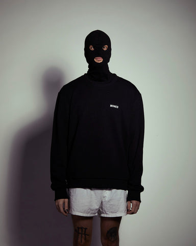 Black Logo - Crewneck