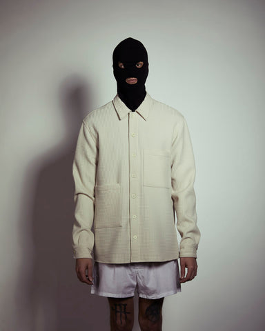 Monochrome - Oversize offwhite Shirt