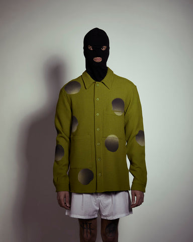 Bubbles - Oversize Acid Green Shirt